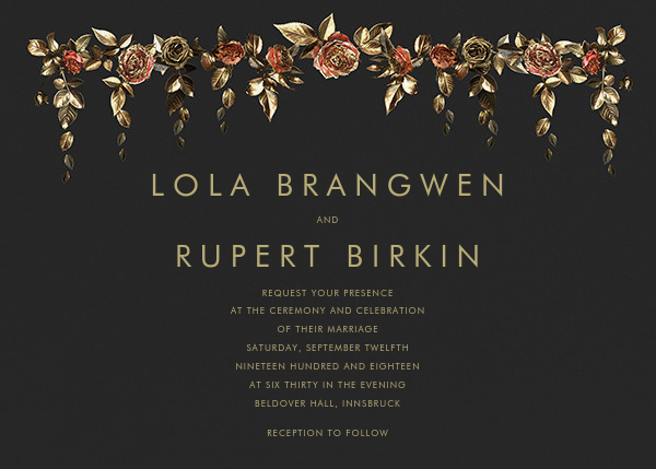 Fontainebleau (Invitation) - Paperless Post - Wedding invitations