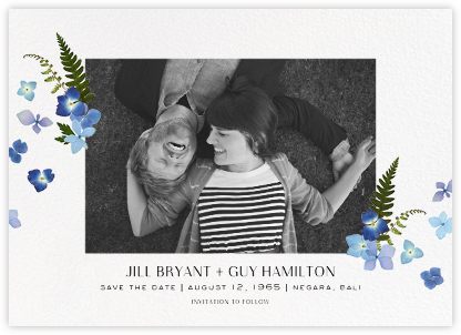Dampierre - Paperless Post - Photo save the dates