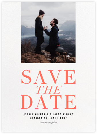 Caserini - Paperless Post - Save the date cards and templates