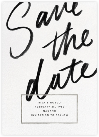 Deighton - Silver - Paperless Post - Save the dates
