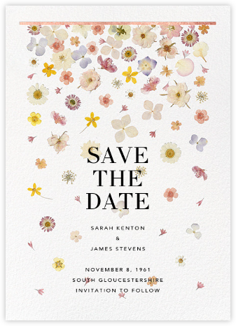 Vincennes (Save the Date) - Rose Gold - Paperless Post -