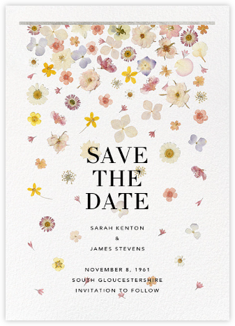 Vincennes (Save the Date) - Silver - Paperless Post - Save the dates