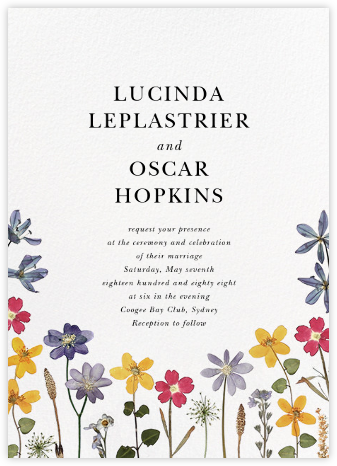 Villandry (Invitation) - Paperless Post - Wedding Invitations