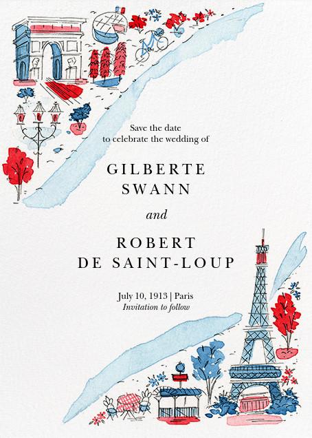 La Seine - Paperless Post -