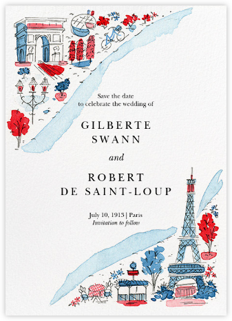 La Seine - Paperless Post - Save the dates