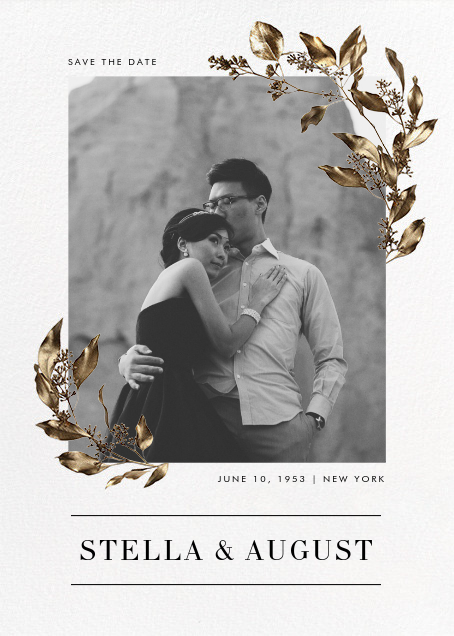 Levasseur - Paperless Post - Save the dates
