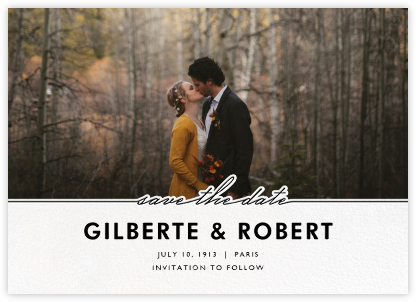 Colbrand - Paperless Post - Modern save the dates