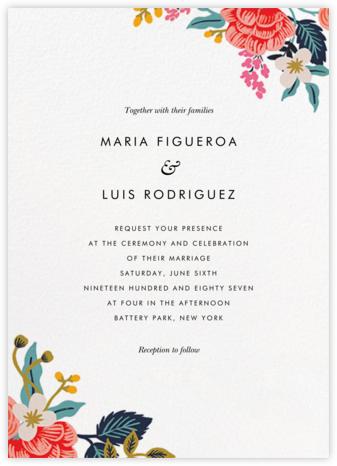 Birch Monarch Suite (Invitation) - Rifle Paper Co. - Rustic wedding invitations