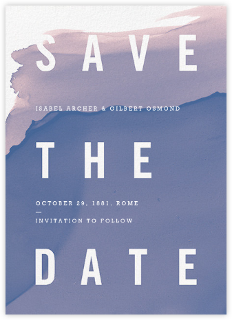 Nacre - Paperless Post - Modern save the dates