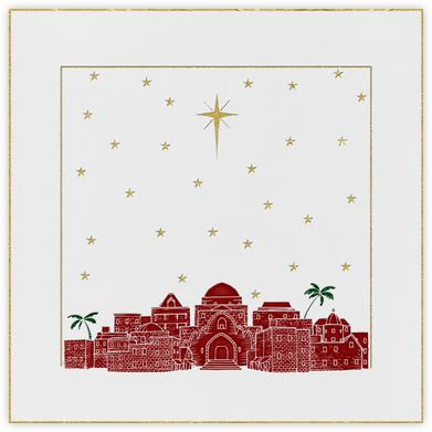 Bethlehem Sky - White - Paperless Post -