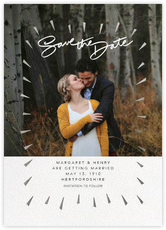 Varvara - Silver - Paperless Post - Save the dates