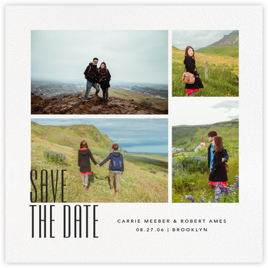Daguerre (Square) - Paperless Post - Save the dates