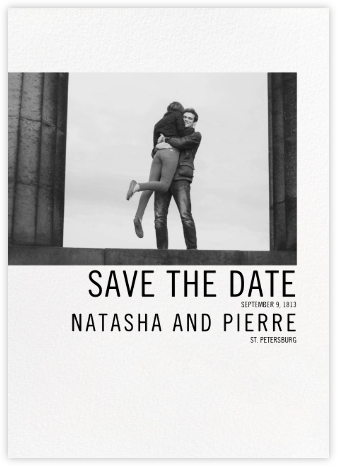 Mise en Scène - Paperless Post - Photo save the dates