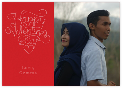 Red Letter Day (Photo) - Paperless Post - Valentine's Day Cards