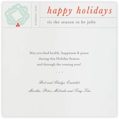 Christmas Telegram - Paperless Post - Holiday Cards