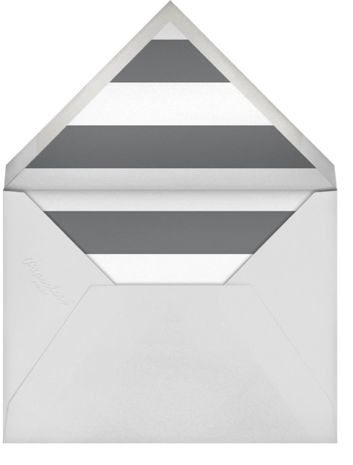 Big Dot Rehearsal (Photo) - Silver - Sugar Paper - Envelope