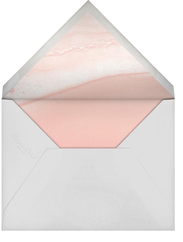 Cumulus - Pavlova/Gold - Paperless Post - Modern  - envelope back