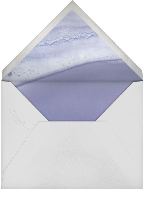 Cumulus - Iris/Gold - Paperless Post - Modern  - envelope back