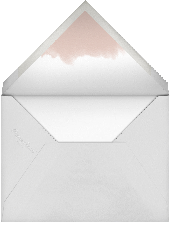 Evelina (Photo) - White/Black - Paperless Post - Designs we love - envelope back