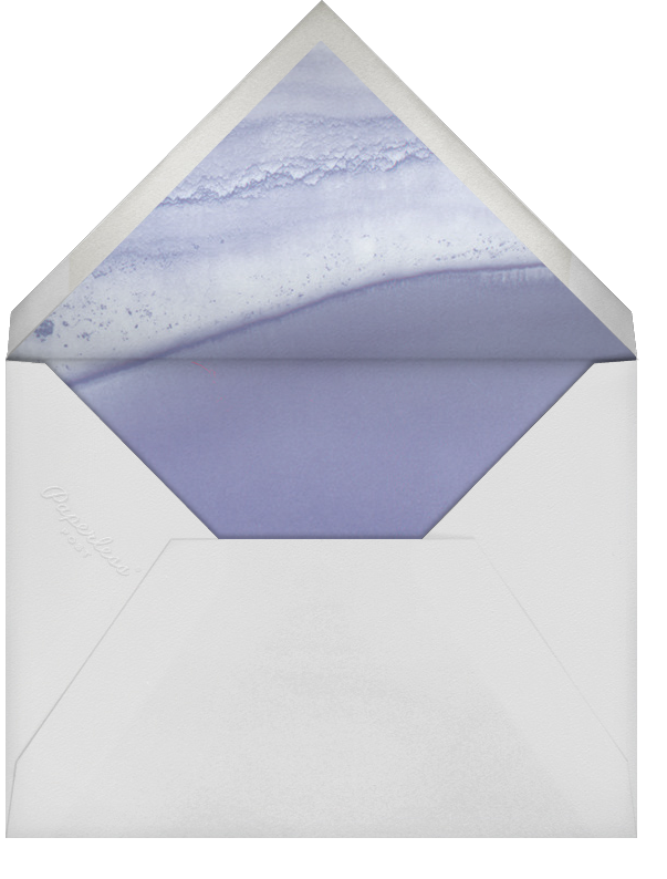 Cumulus - Iris/Silver - Paperless Post - Modern  - envelope back