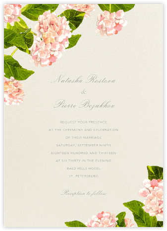 Lacecap - Felix Doolittle - Wedding Invitations