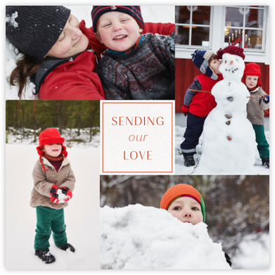 A Little Box of Love - Paperless Post - Holiday cards