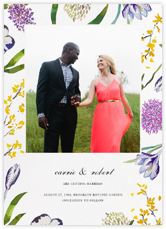Spring Florets (Photo Save the Date) | null