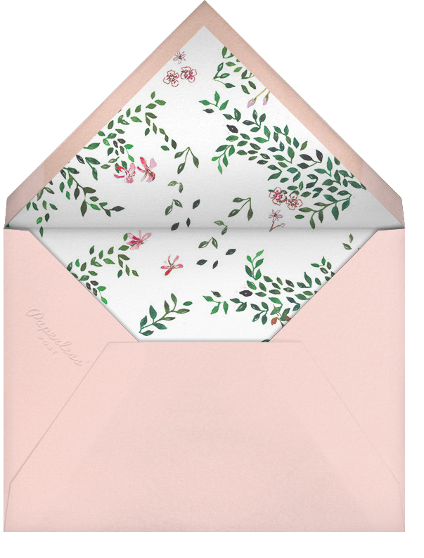 Hedgerow in Bloom (Save the Date) - Happy Menocal - Destination - envelope back