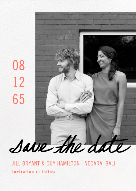 Tompion - Paperless Post - Save the dates