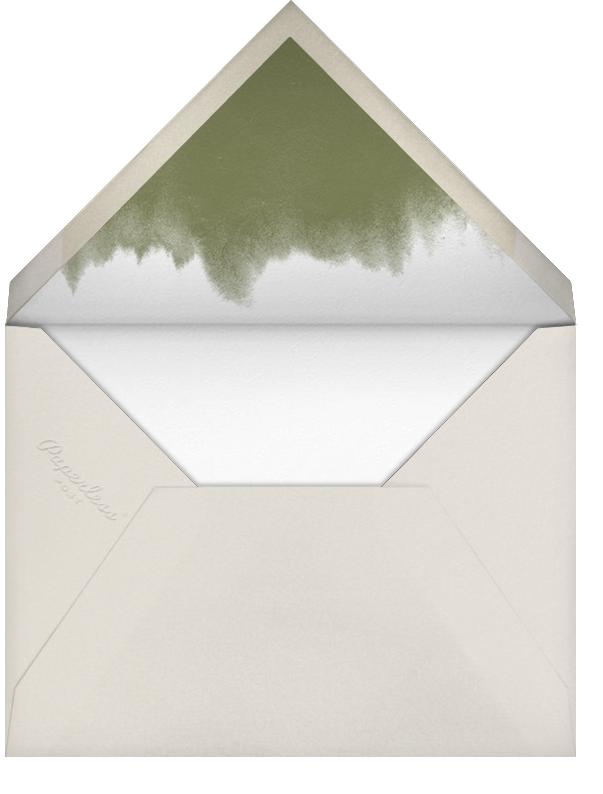 Dip Dye - Pumpkin - Paperless Post - null - envelope back
