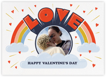 Love from Above - Paperless Post - Valentine's Day Cards