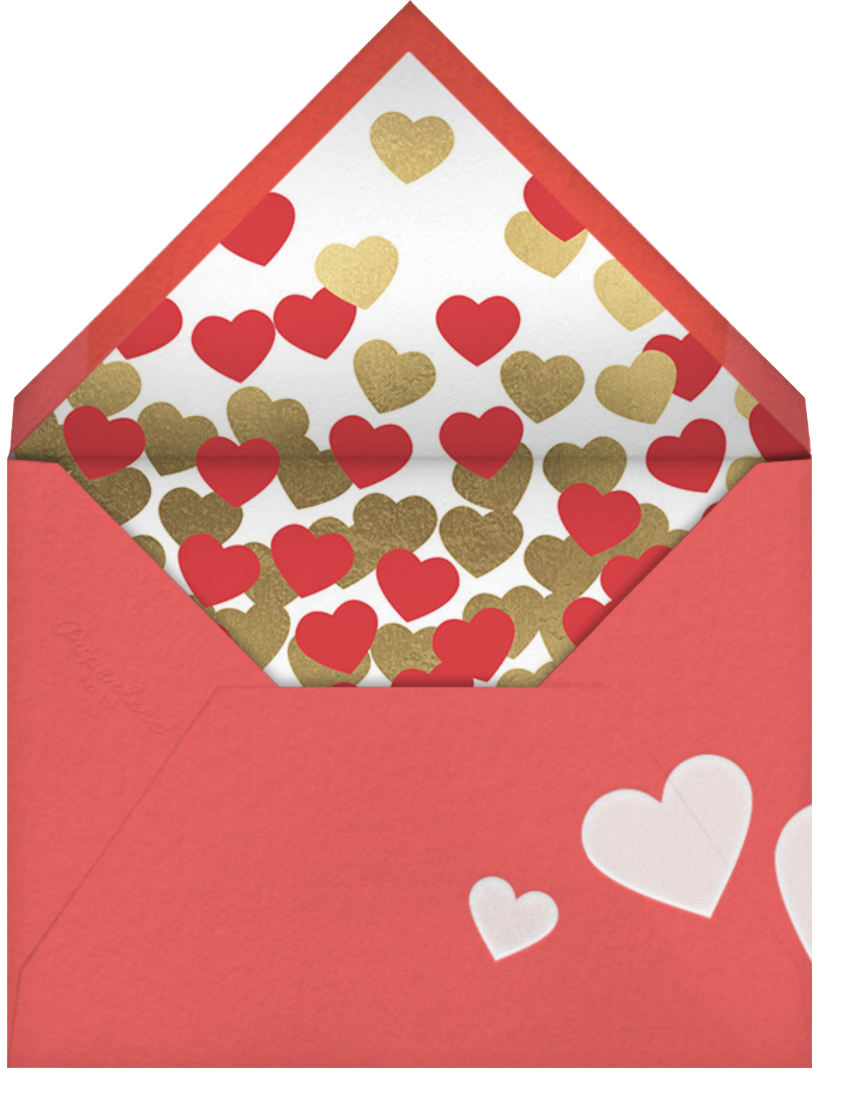 Olive My Love - Paperless Post - Valentine's Day - envelope back