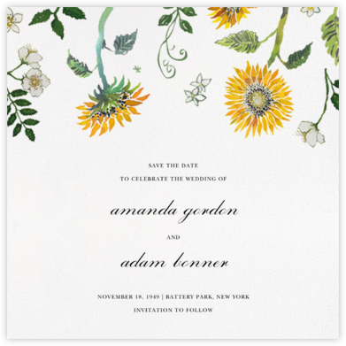 Dandelion Harvest (Save the Date) - Happy Menocal - Save the dates