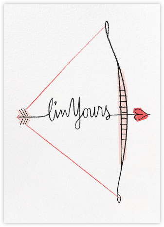 Ready, Aim, Desire - Paperless Post - Valentine's Day Cards