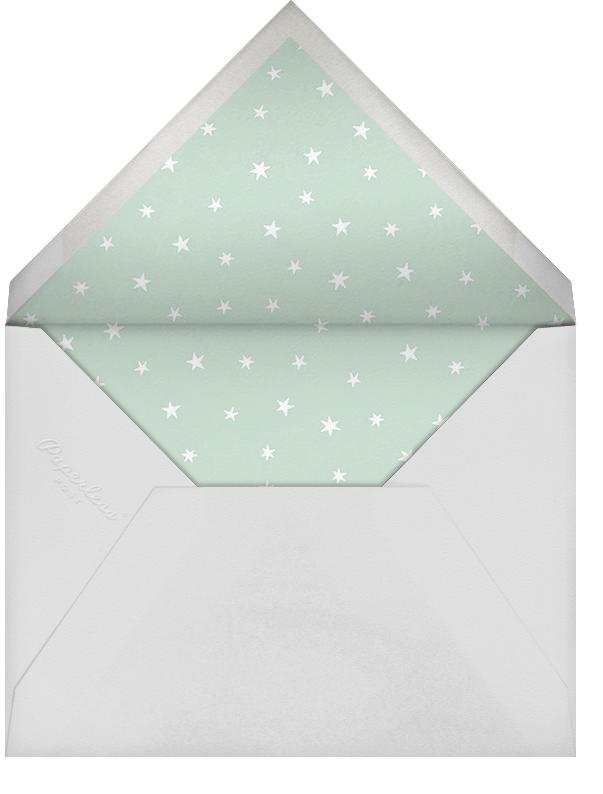 Starry Slumber (Announcement) - Silver - Paperless Post - Birth - envelope back