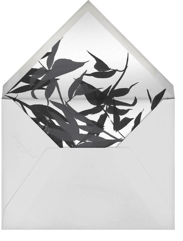 Idylle (Photo) - White/Silver - Paperless Post - Envelope