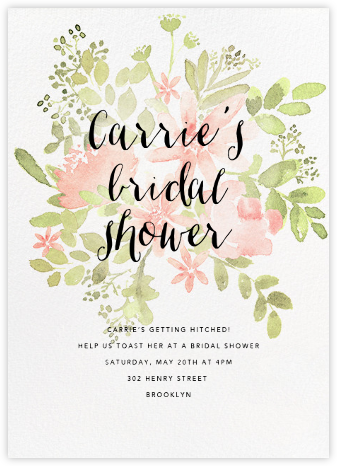 invitations cheap pink shower wishing saccord well couples coed bridal invites sample org