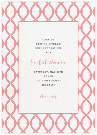 Lady Bexborough - Blossom - Paperless Post - Bridal shower invitations