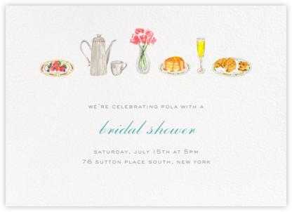 Brunch - Paperless Post - Bridal shower invitations