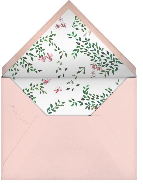 Hedgerow in Bloom - Happy Menocal - Bridal shower - envelope back
