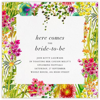 Tresco (Invitation) - Liberty - Bridal shower invitations