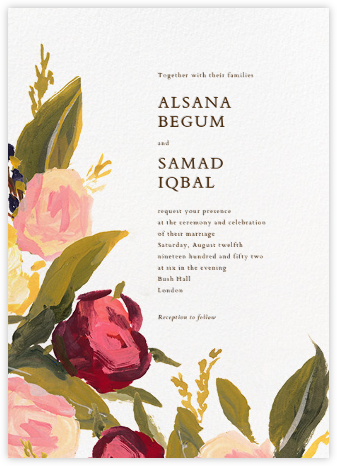 Giverny (Invitation) - Paperless Post - Wedding Invitations