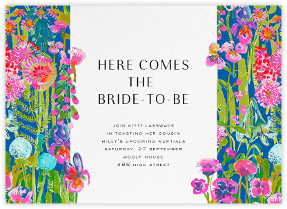 Hampton - Liberty - Bridal shower invitations