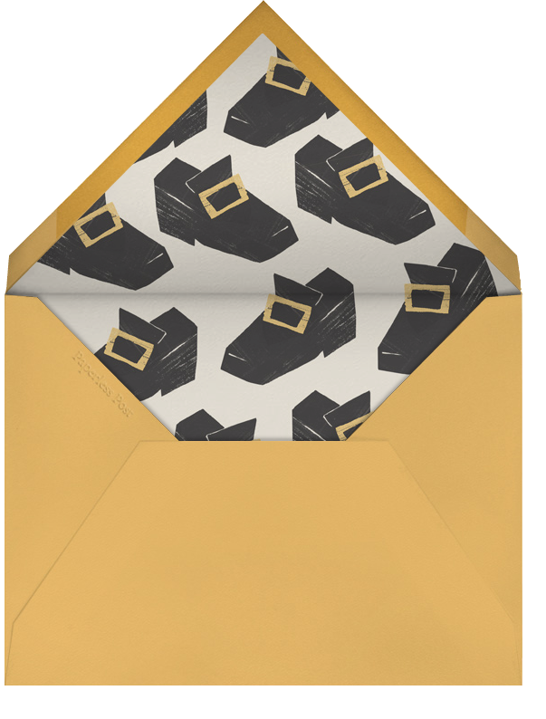 Pilgrim Hat - Paperless Post - Thanksgiving - envelope back
