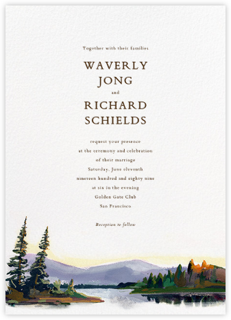 Oneida (Invitation) - Paperless Post - Destination wedding invitations