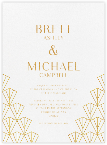 Cassandre (Invitation) - Paperless Post - Wedding invitations