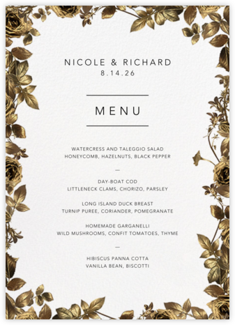 Girardin (Menu) - Paperless Post - Wedding menus and programs - available in paper