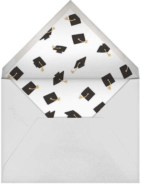 Caps Ahoy (Photo) - Rifle Paper Co. - Graduation - envelope back