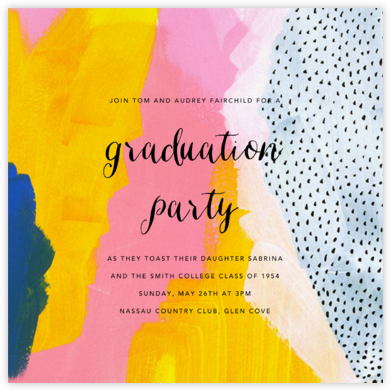 Sundry Strokes - Ashley G - Invitations