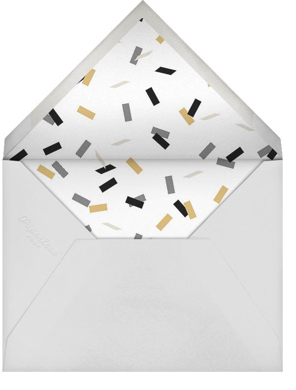 Idylle (Photo) - White/Gold - Paperless Post - Graduation - envelope back